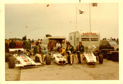 1971; Harewood acres near Jarvis Ontario; Bill Brack, Craig Hill and Hugh Cree  For info on Harewood: http://www.canadianracer.com/harewood.asp