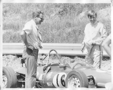 Starting Grid with Dad: 1968 Lotus 51A-FF-88 at Mosport, Bowmanville, Ontario
