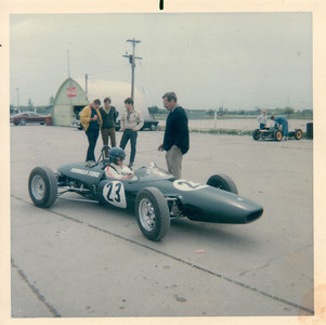 1968 summer, Lotus 51A-FF-88 at Harewood Acres Ontario, was an old WWII airport, the first run and racing license day!