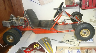 1962 Bantam Kart, as is in Nov 2011