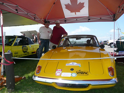 2008: My Elan Plus2 in 2008 at Mosport, now running in the VARC vintage races....I'm with the same owner I sold it to in 1983!Now owned by Fred Samson