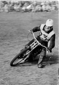 Bingley Cree, Southern England Grass Track Racing in 1949