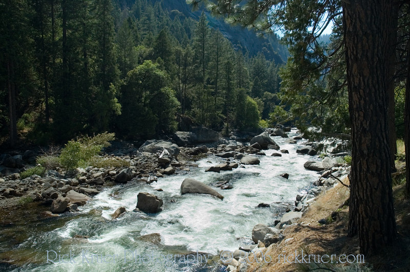 Merced River looking downstream near route 140 in Yosemite.<br /> <br /> ND70_2006-07-28DSC_6223-MercedRiver-2 copy.jpg