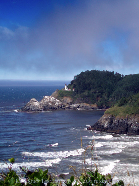 Eileen's photo: Dramatic clouds and fog over the Heceta Head Lighthouse, north of Florence, OR<br /> P7240461-HecetaHeadLighthouse-2 copy.jpg