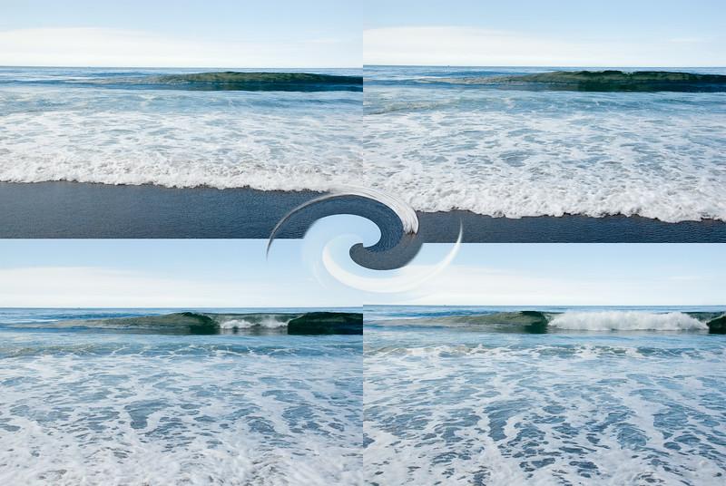 Low tide wave breaks<br /> Gleneden Beach, Oregon<br /> July 2007<br /> <br /> Copyright © 2007 Rick Kruer<br /> rickkruer.com<br /> <br /> D200_2007-07-13DSC_1710-1712-1714-1716-LowTideWave-Montage-2.psd
