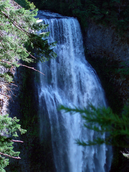 Eileen's nice closeup photo of the upper section of Salt Creek Falls.<br /> <br /> P7041253-SaltCreekFallsCloseupTall-2.jpg