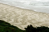Beach patterns in the sand north of Florence, Oregon.<br /> D200_2007-07-20DSC_2612-BeachPatternsFlorence-2.jpg