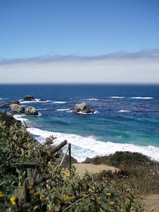 Eileen's great photo of the deep blue ocean at Big Sur, CA. P7252027-BlueOceanrockyCreek-2.jpg