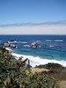 Eileen's great photo of the deep blue ocean at Big Sur, CA.<br /> P7252027-BlueOceanrockyCreek-2.jpg