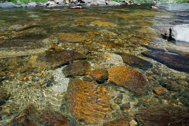 The Tuolumne River is so clear, clean and beautiful.<br /> <br /> D200_2007-07-02DSC_0674-ToulumneRiverCloseup-2.JPG
