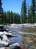 Eileen's photo (tall of course) of the clear Tuolumne River on the east side of Yosemite. <br /> <br /> P7021137-TuolumneRiverYosemiteTall-2.jpg