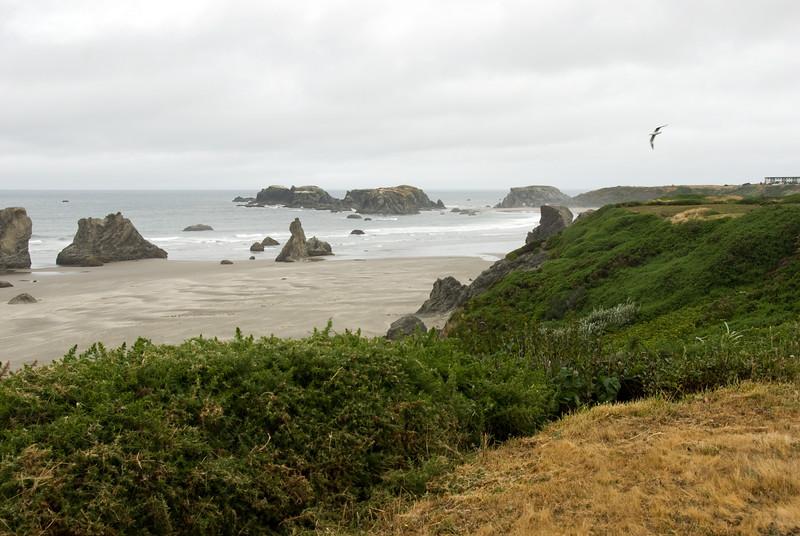 The beach rocks at Face Rock<br /> Bandon, Oregon<br /> July 2007<br /> <br /> Copyright © 2007 Rick Kruer<br /> rickkruer.com<br /> <br /> D200_2007-07-21DSC_2649-FaceRockBeachRocks3-nice-2.psd