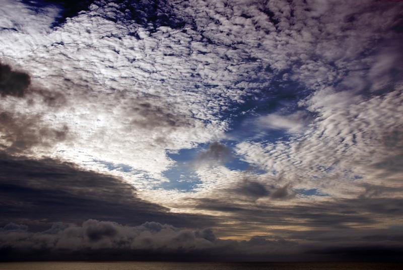 Sunset clouds on the Cavalier beach.<br /> D200_2007-07-19DSC_2542-SunsetClouds-2 copy.jpg