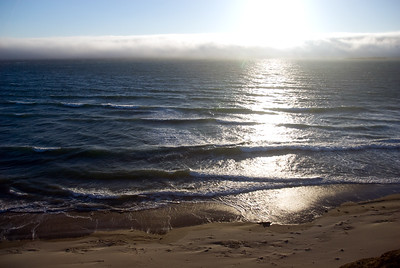 Foggy Sunset on the Central Oregon Coast Beverly Beach near Newport, Oregon July 2008  Copyright © 2008 Rick Kruer rickkruer.com  D200_2008-07-13DSC_6634-FogSunsetBeverlybeach-nice-2.psd