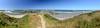 Face Rock Bandon Beach Panorama (13 photos, DSC_0314--0326)<br /> Bandon, Oregon<br /> July 2011<br /> <br /> Copyright © 2011 Rick Kruer<br /> rickkruer.com<br /> <br /> D7000_20110709_1118_DSC_0314--0326-BandonBeachFaceRockPano-3.psd
