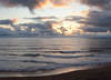 Panorama of Stormy Clouds at Sunset on the Oregon Coast<br /> July 2011<br /> <br /> Copyright © 2011 Rick Kruer<br /> rickkruer.com<br /> <br /> D7000_20110713_2046_DSC_0543--0549-SunsetStormyCloudsPanorama-2.PSD