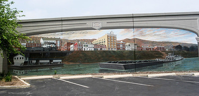 Maysville Flood Wall Mural