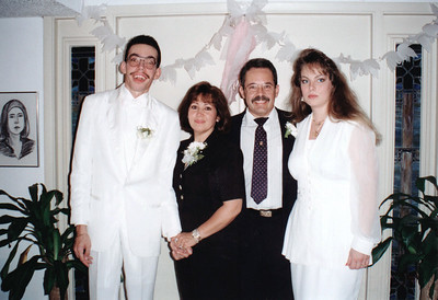 Alan and Stephanie's Wedding Day June 16, 1995