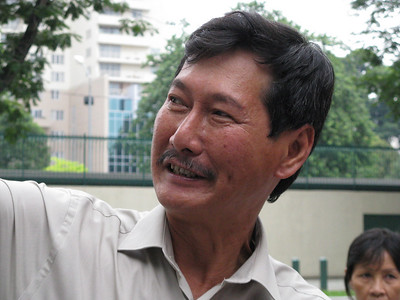 Mr. Hiep is one of the tour guides that we use in HCMC (Saigon) and places south.