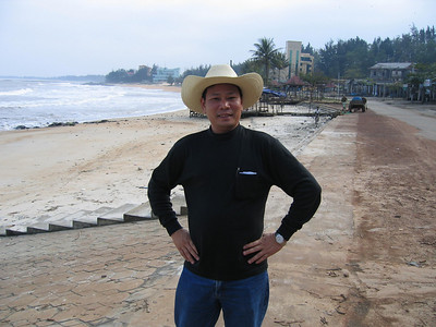 Mr. Thanh is one of the tour guides that we use while touring in the center part of Vietnam (I-Corps, II-Corps).