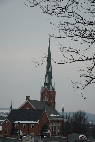 Church in PA countryside