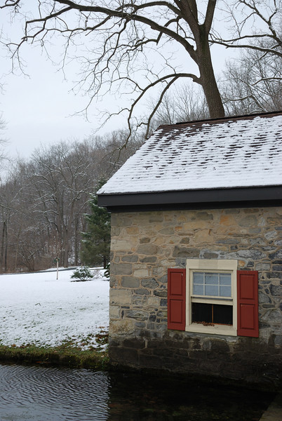Spring House at Bogert's Bridge