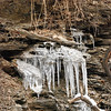Ice formation near Geiger's Bridge