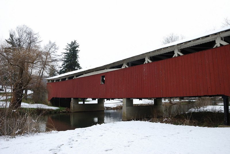Bogert's Bridge<br /> <br /> One of the oldest covered bridges in the region, and the nation.