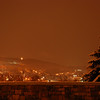 Bethlehem at Night with Snow