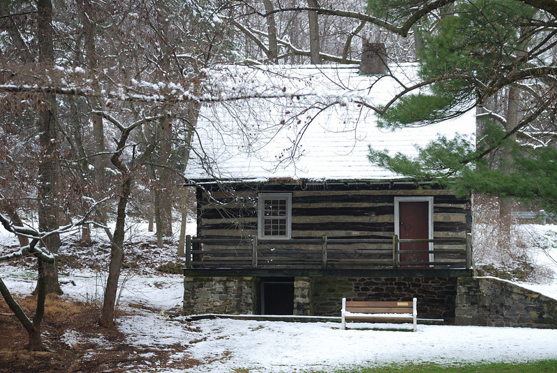 Cabin near Bogert's Bridge