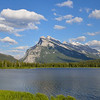 Vermillion Lakes and Mount Rundle