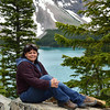 Lynne at Moraine Lake