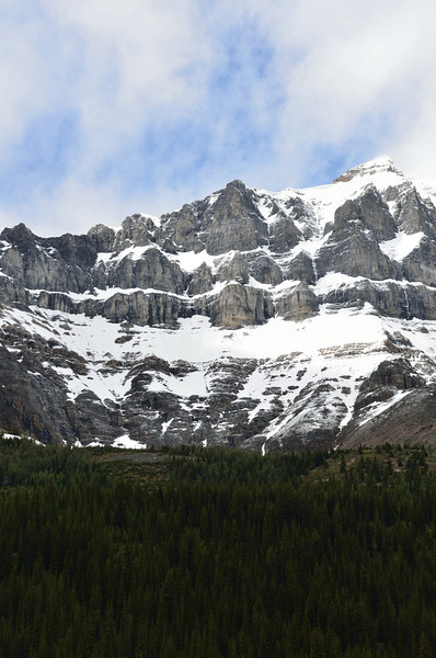 Mountains near Moraine Lake