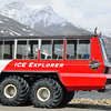 Glacier vehicle.  It looks big until you go out on the glacier.  They look very small in the next photo.