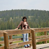 Lynne at Cascade Ponds.