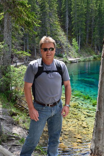 Stan at Grassi Lakes