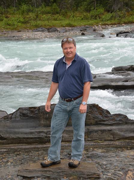 Stan at Numa Falls.