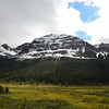 View from Columbia Icefields Parkway