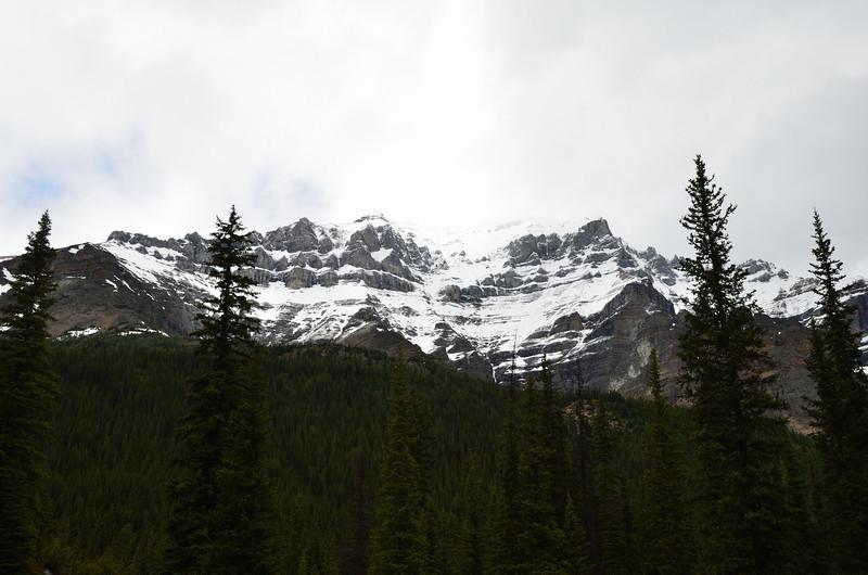 Mountains at Moraine Lake