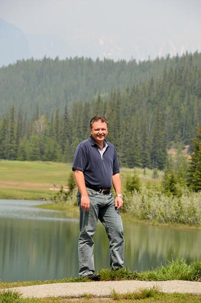 Stan at Cascade Ponds.