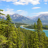 View from Grassi Lakes Trail