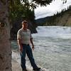 Stan at Bow River Falls.