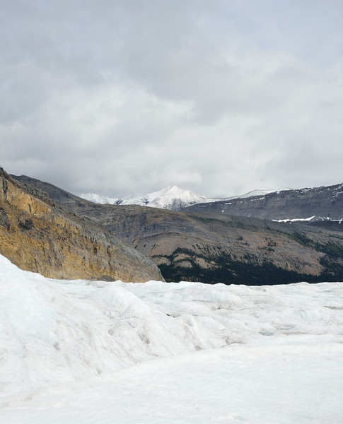 View from the glacier.