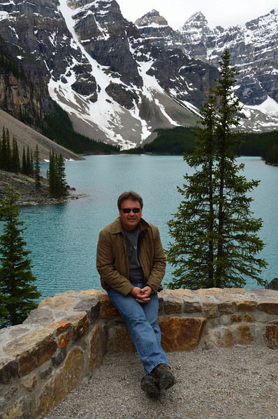 Stan at Moraine Lake