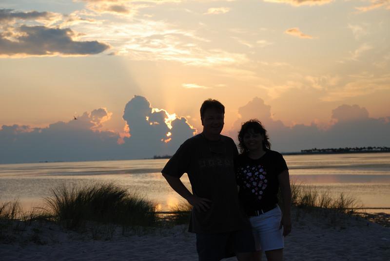 Sunset Beach near Tarpon Springs