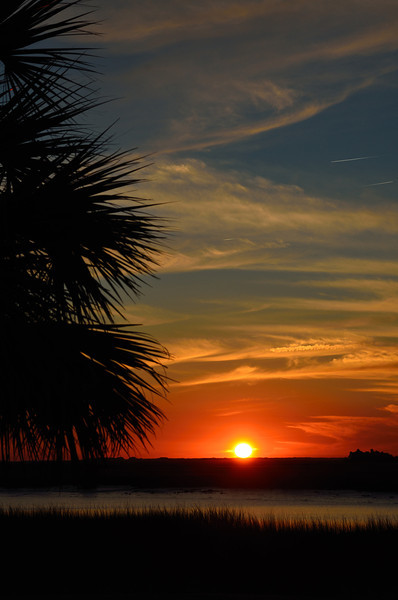 Hunting Island Sunset