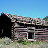 Rustic cabin near Custer, Idaho.