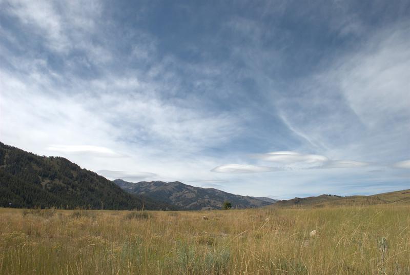 Near Smiley Creek, Idaho