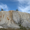 Orange Mound at Mammoth Hot Springs