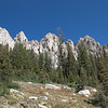 Hiking the Sawtooth Wilderness Area, Iron Creek Trail, Alpine Lake